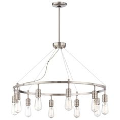 Found it at Wayfair - Downtown Edison 10 Light Chandelier - Dining