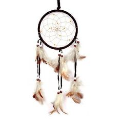 Amazon.com - Cren® Dream Catcher with Feathers Hanging Approx 13cm/ 5.12inch Diameter 48cm/18.9inch Long -