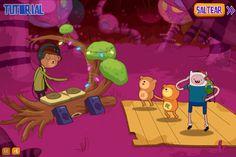 Ayuda a Finn and Jake en estos juegos relacionado a la musica.