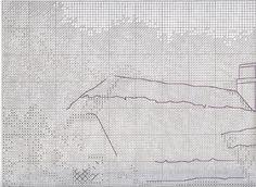 Stickerei-Garten-Schema mit einer Brücke (Anker) 1 Von 6