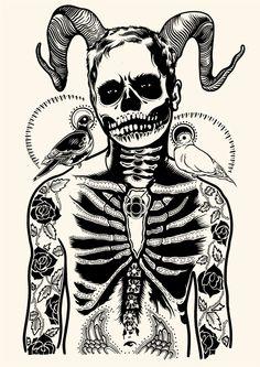 Parka o Demonio? ilustración de Tim McDonagh