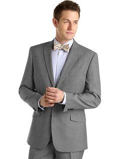 Suits & Suit Separates - Marc Ecko Gray Tic Suit - Men's Wearhouse