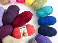 Who knew an acrylic yarn could be so luxurious? With a radiant finish that lends it elegant sheen, Bernat Satin works up into luxe projects without the luxe price point. Warm and lightweight, you'll love how this worsted-weight creates incredible stitch definition fit for breathtaking lace, cables and beyond. Just pick the vibrant hue that's perfect for you and enjoy easy-care durability.