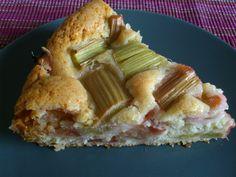 Veganer Rhabarberkuchen » Im Vorjahr habe ich euch meine Rezepte für Rhabarber-Pudding undR ...