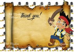 Jake and the Neverland Pirates Printable