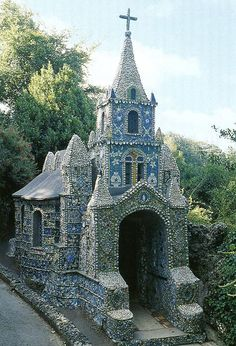 The little chapel, St Andrew, Guernsey, England ~