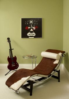 Rock star style, Le Corbusier lounge chair Regina Sturrock Design Inc