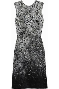 Lanvin Resort 2012 Printed jewel dress.