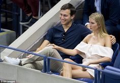 Tennis fans: Despite being incredibly busy, Jared and Ivanka found time earlier this month to go to the US Open