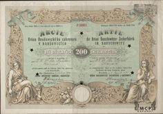 Muzeum cennych papiru A1136 Brňan Boušovický cukrovar v Boušovicích [Brňan-Bohušovický cukrovar v Bohušovicích] 1873