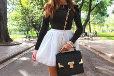 Angeline from Her Vogue Diary with the Nasty Gal Bel Air Quilted Bag || Get the bag: http://www.nastygal.com/whats-new/Nasty-Gal-Bel-Air-Quilted-Bag