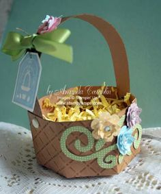 10 Simple Steps to a Basket with the Milk Carton die
