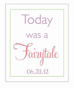 today was a FAIRYTALE  taylor swift lyrics and by LiveLifeAndLove, $10.75