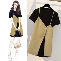 Wow cool The Effective Pictures We Offer You About fashion sketches model A quality picture can tell Girls Fashion Clothes, Kpop Fashion Outfits, Korean Outfits, Mode Outfits, Casual Outfits, Fashion Drawing Dresses, Fashion Illustration Dresses, Fashion Dresses, Korean Girl Fashion