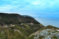 This weeks travel photo is of the Skyline Trail; a 7k hike through the highlands of Cape Breton National park. It offers sprawling views of Nova Scotia's landscape and is a must see for travelers in Canada. (Cabot Trail, Photography, Inspiration, Motivation, Retro, Quote, Travel)