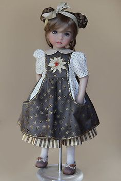 Details about Outfit for dolls Little Darling by Dianna Effner Sewing Doll Clothes, Sewing Dolls, Pretty Dolls, Beautiful Dolls, Child Doll, Baby Dolls, Effanbee Dolls, Gotz Dolls, Doll Dress Patterns