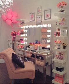 Makeup Room Design Girly 35 New Ideas