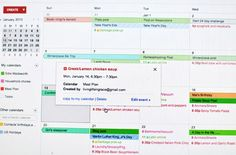 Meal planning blues? Try using Google calendar or your fave electronic calendar to schedule your meals.
