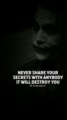 Joker quotes to make your day…. Badass Quotes, Best Joker Quotes, Best Quotes, Joker Qoutes, True Quotes, Words Quotes, Motivational Quotes, Inspirational Quotes, Sayings