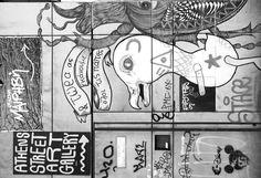 Psyrri street art corner