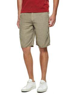 Linen Shorts by John Varvatos Star USA at Gilt