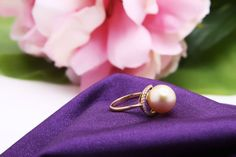 Pearl Ring, Pearl Earrings, Gemstone Rings, Pearls, Gemstones, Jewelry, Pearl Studs, Jewlery, Gems