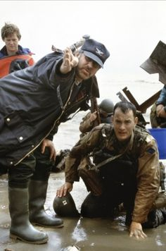 Spielberg and Hanks - Saving Private Ryan (Ireland )