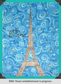 I need a Paris quilt!