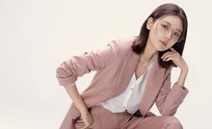 """Sooyoung is the new muse of fashion eyewear brand 'VIEU'.She posed for the 2018 S/S season, and VIEU said, """"Sooyoung expressed 'VIEU's s… Fashion Brand, Fashion Online, Fashion Design, Sooyoung Snsd, Pink Suit, Bling, Korean Celebrities, Top Designer Brands, Mamamoo"""