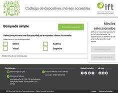 Se anuncia catálogo de móviles para personas con discapacidad
