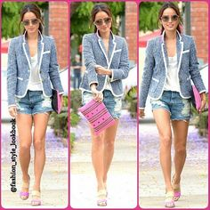 #jamiechung #lookbook #style #lookbooknu #stylish #instastyle #fashion #fashionista #instafashion #love #ootd #shoes #hair #outfit #glitter #clutch #sunglasses #heels #miumiu #topshop #mango #zara #hermes #mint #neon #celebrity #asian #blazer #streetstyle #streetfashion... - Celebrity Fashion