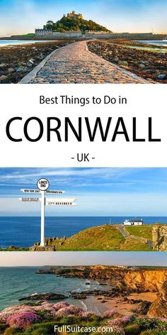 Best things to do in Cornwall UK Things To Do In Cornwall, Things To Do In London, Ireland Travel, Travel Europe, England Ireland, English Countryside, Dream Vacations, Travel Pictures, Cool Places To Visit
