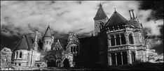 The Haunting 1963, Hill House in all its horrific grandeur
