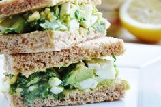 Avocado Egg Salad Sandwich… perfect for Afternoon Tea - Honey, Whats Cooking