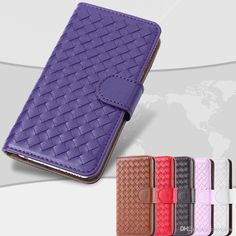 Iphone 6 6plus IPhone 5S Cases Fashion Woven Weave Knit Wallet Leather Card Slot Stand Purse Leather Pouch Case Phone Bag Pink Case from Easycome,$4.09 | DHgate.com
