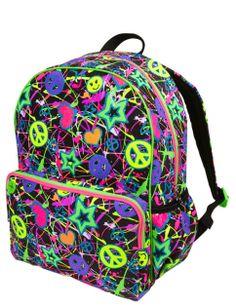 Glitter Graffiti Backpack | Girls Backpacks & School Supplies Accessories | Shop Justice