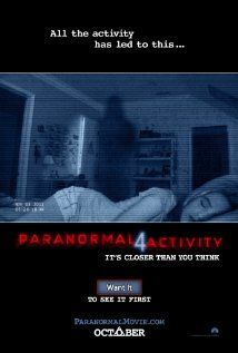 FUTURE - Paranormal Activity 4  The plot is undisclosed as this film has not been released yet. Release date is somewhat is 2012