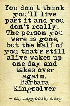Barbara Kingsolver quote