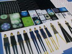 Diseño de indumentaria - Así se presentan alumnos de #Eamoda para participar de los desfiles de #diseñodeautor #diseñodemoda #estampadodeautor #eamodalab #diseñodeindumentaria #pasarela #runway #fashion #moda #diseño #figurin #textiles #telas #moldería