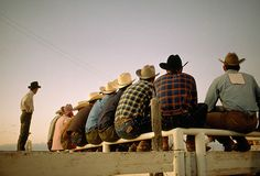 Cowboys by William Albert Allard