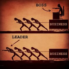 To be a leader