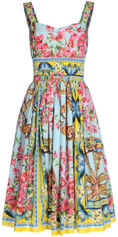 Dolce  and  Gabbana  3/4 Length Dress - Lyst