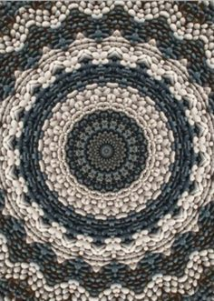 This looks like a crocheted doily.➕mosaic -➕Blue Nature➖➕More Pins Like This At FOSTERGINGER @ Pinterest✖️