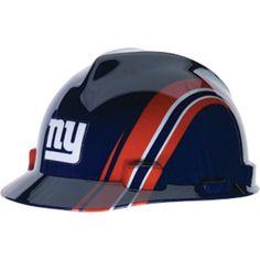 9823eda57bb New York Giants Hard Hat - NFL Licensed Construction Safety Helmet