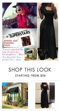 """""""Our Daughters Are Wwe Superstars (Filmed March 23)"""" by digital-minerva ❤ liked on Polyvore featuring Improvements"""