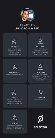 Peloton Diaries | Member Tammy H's Week in Peloton Workouts How a single, working mom works out with Peloton in a week You Fitness, Fitness Goals, Fitness Motivation, Weekly Workout Plans, How To Get, How To Plan, Working Moms, Self Love, Workouts