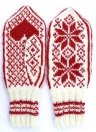 Fredsvotten - Peace from Selbu Husflid, Norway. Originally made to the theater play a family's struggle during the world war. Idea and director Elisabeth Matheson. Pattern and yarn available at link. Knitted Mittens Pattern, Knit Mittens, Knitted Hats, Knitting Stitches, Baby Knitting, Knitting Patterns, Norwegian Knitting, Fingerless Mittens, Fair Isle Knitting