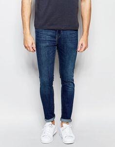 Hommes Lavent Couture Torsadée Jeans Skinny Nouveau Look ouBaiQ