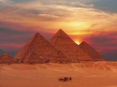 Cheops Pyramide, Egypt