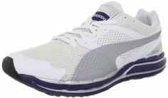 PUMA Men's Faas 800 S Running Shoe,White/Evening Blue/Puma Silver,10 D US Puma. $49.99